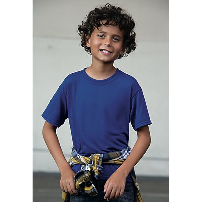 Jerzees 5.3oz Youth Poly Wicking T