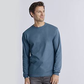 Gildan Ultra Cotton Heavyweight Long Sleeve T-Shirt 100%