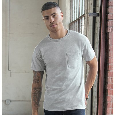 Jerzees Heavyweight Pocket T-Shirt