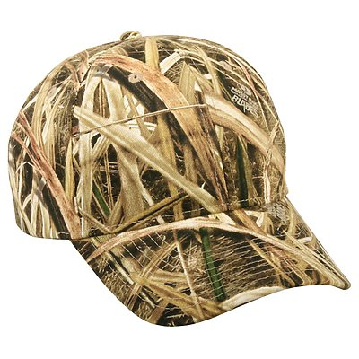 OUTDOOR CAP 6 Panel Camo Cap