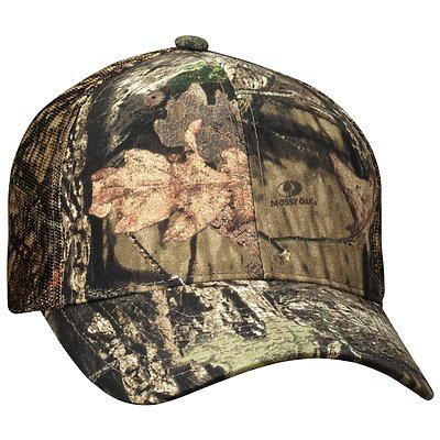 OUTDOOR CAP 6 Panel Camo Mesh Back Cap