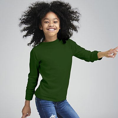 Fruit of the Loom Youth 5.6oz 100% Longsleeve