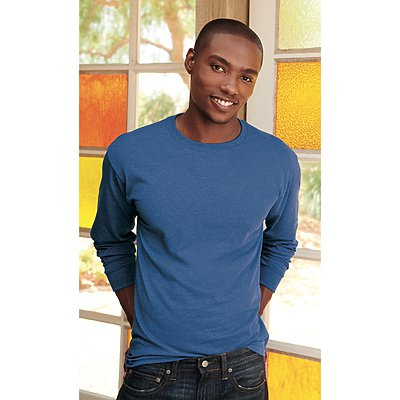 Fruit of the Loom Heavy Cotton Long Sleeve T-Shirt 100%