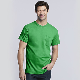 Gildan 5.4oz Heavy Cotton Adult T with Pocket