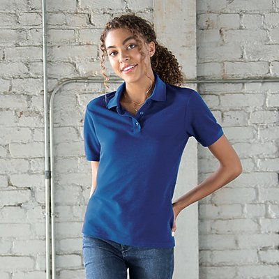 Jerzees Ladies 5oz 65/35 Pique Sportshirt