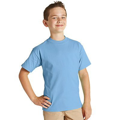 Hanes Youth 100% Beefy-T