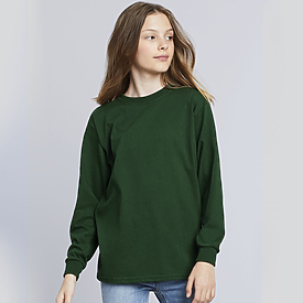 Gildan Youth 5.3oz 100% Longsleeve T