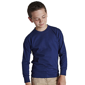 Hanes Youth 6.1oz 100% Authentic Longsleeve