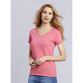 Gildan Heavy Cotton Ladies V-neck t-shirt
