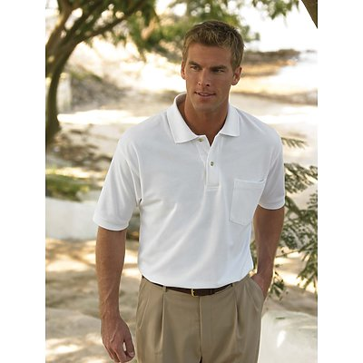 Inner Harbor Pique/Mesh Pocket Golf Shirt