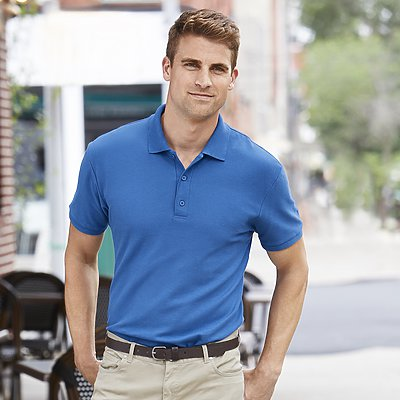 Gildan Premium Cotton Adult Double Pique Sport Shirt