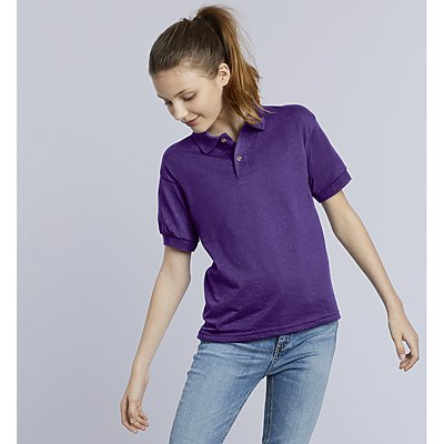 Gildan Youth 50/50 Golf Shirt