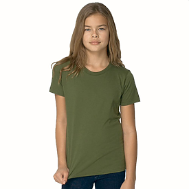 American Apparel  Youth Fine Jersy T-Shirt