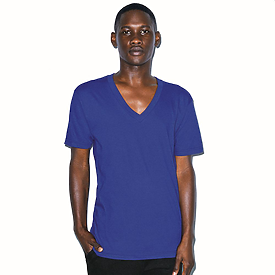 American Apparel Fine Jersey S/S V-Neck T-Shirt