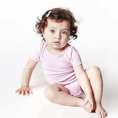 American Apparel  Baby Rib Infant One Piece