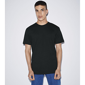American Apparel Poly-Cotton Crew Neck T-USA
