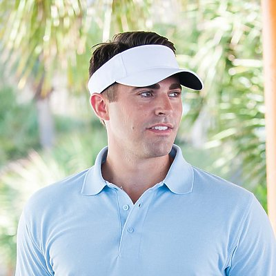"Adams 100% Cotton Twill ""Ace"" Visor"