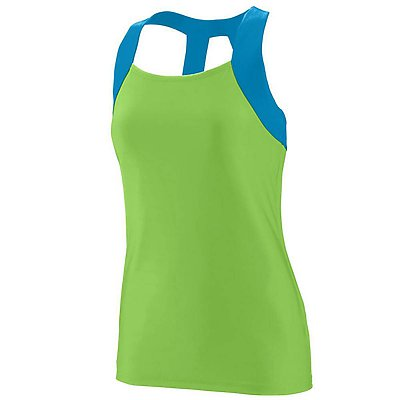 Augusta Ladies Jazzy Open Back Tank