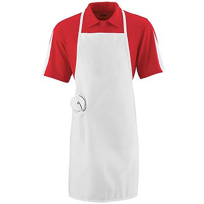 Augusta Long Apron with Pocket