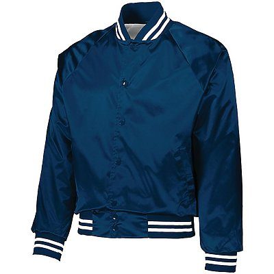 Augusta Youth Satin Striped Jacket