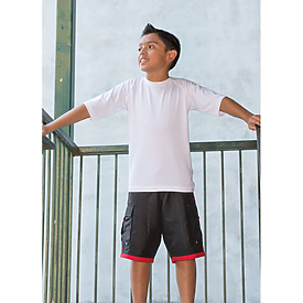 Burnside Youth Short Sleeve Rash Guard
