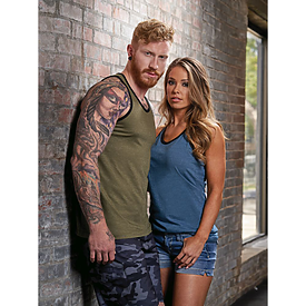 Burnside Unisex Heather Tank Top