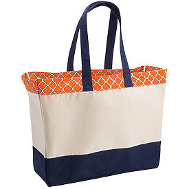 BROOKSON BAY BAGS Top Pattern Beach Tote