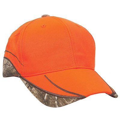 OUTDOOR CAP Blaze with Camo Trim Cap