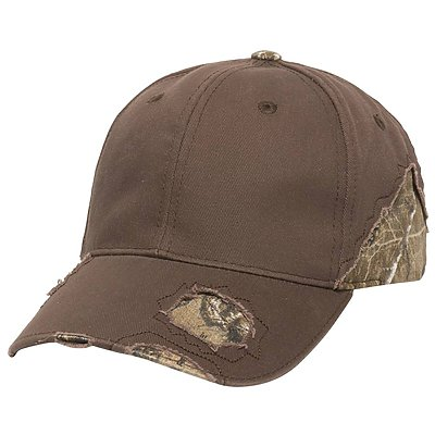 OUTDOOR CAP Frayed Cap with Camo