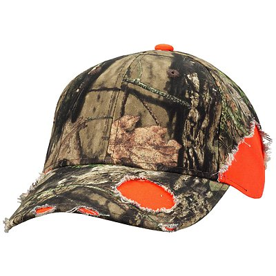 OUTDOOR CAP Camo Frayed Cap