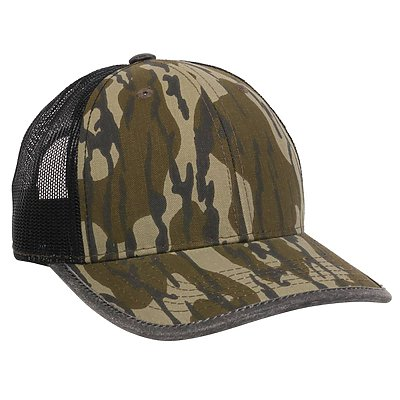 OUTDOOR CAP Weather Bound Visor Camo Trucker