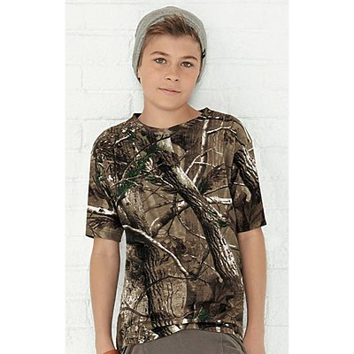 Code V Youth Realtree Camo T