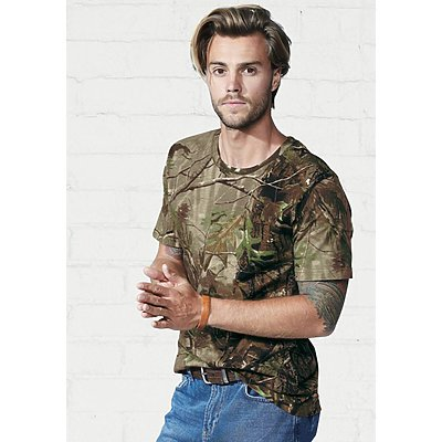 Code V 5.5oz Realtree Camo T-Shirt