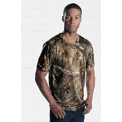 Code V Adult Performance Camo Tee