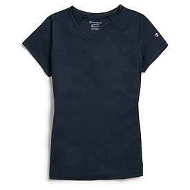 Champion Ladies Double Dry V-Neck T