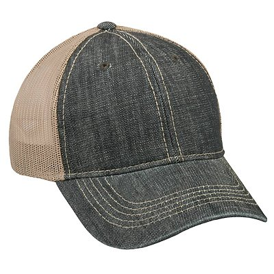 OUTDOOR CAP Heavy Washed Denim Cap