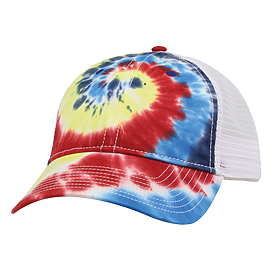 The Game Headwear Lido Tie Dye Trucker Cap