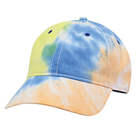 The Game Headwear Ashbury Tie Dye Twill Solid Cap