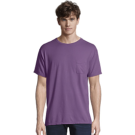 Hanes Comfort Wash Pocket Garment Dyed S/S Tee
