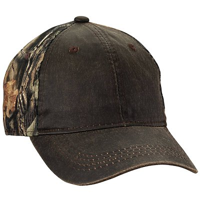 OUTDOOR CAP Weathered and Camo Cap