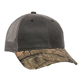 OUTDOOR CAP Weathered Cotton Distressed Camo Cap