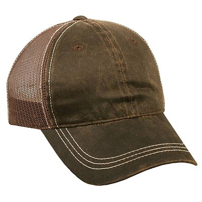 OUTDOOR CAP Weathered Cotton Mesh Back Cap