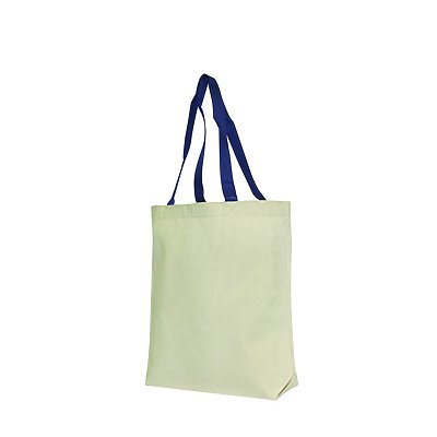 LIBERTY BAGS 10oz Tote W/Contrasting Handle