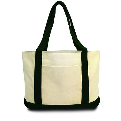 LIBERTY BAGS 11oz Cotton Canvas Boat Tote