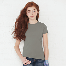 LAT 4.5oz 100% Girls Fine Jersey T
