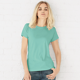 LAT 4.5oz Ladies Longer Length T