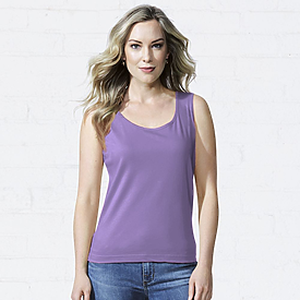 LAT 5.5oz Ladies 100% Tank Top