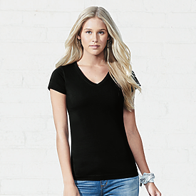 LAT 4.5oz Jr V-Neck Long length T