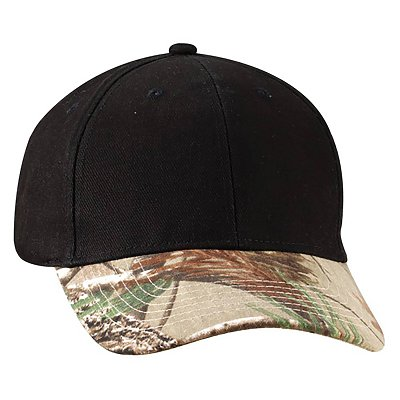 KATI HEADWEAR Solid Crown Camo Cap