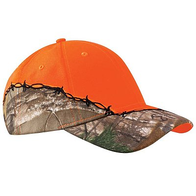 KATI HEADWEAR Licensed Camo /w Barbed Wire Embroidery